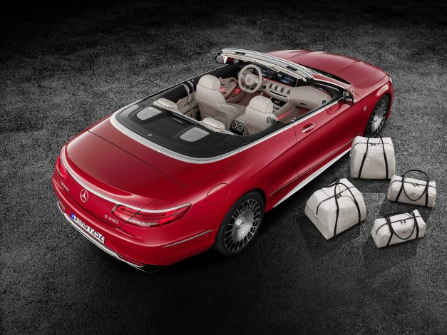 2016 LA Preview: The Mercedes-Maybach S650 Cabriolet is the sub-brand's latest model addition