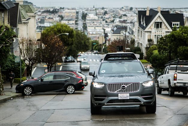 2016 - Uber launches self-driving Volvo XC90s