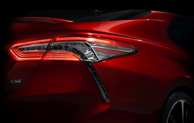 2017 NAIAS Preview: The new 2017 Toyota Camry, this is partially it