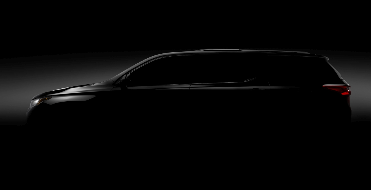 2018 Chevrolet Traverse Teaser