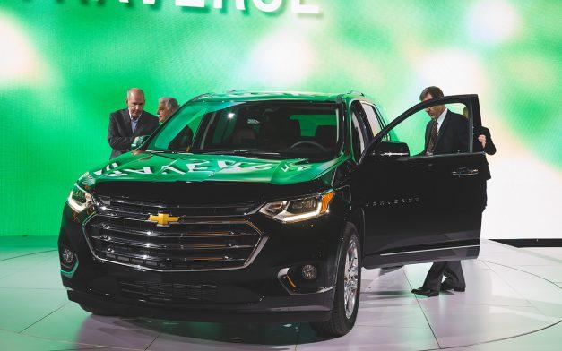 2017 NAIAS - 2018 Chevrolet Traverse