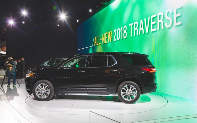 2017 NAIAS - 2018 Chevrolet Traverse
