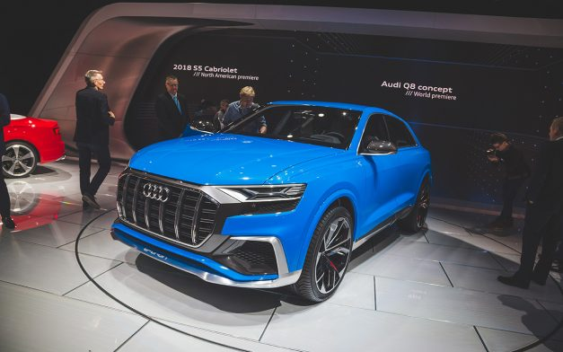 2017 NAIAS: Audi pulls the sheets off of the new Q8 Concept