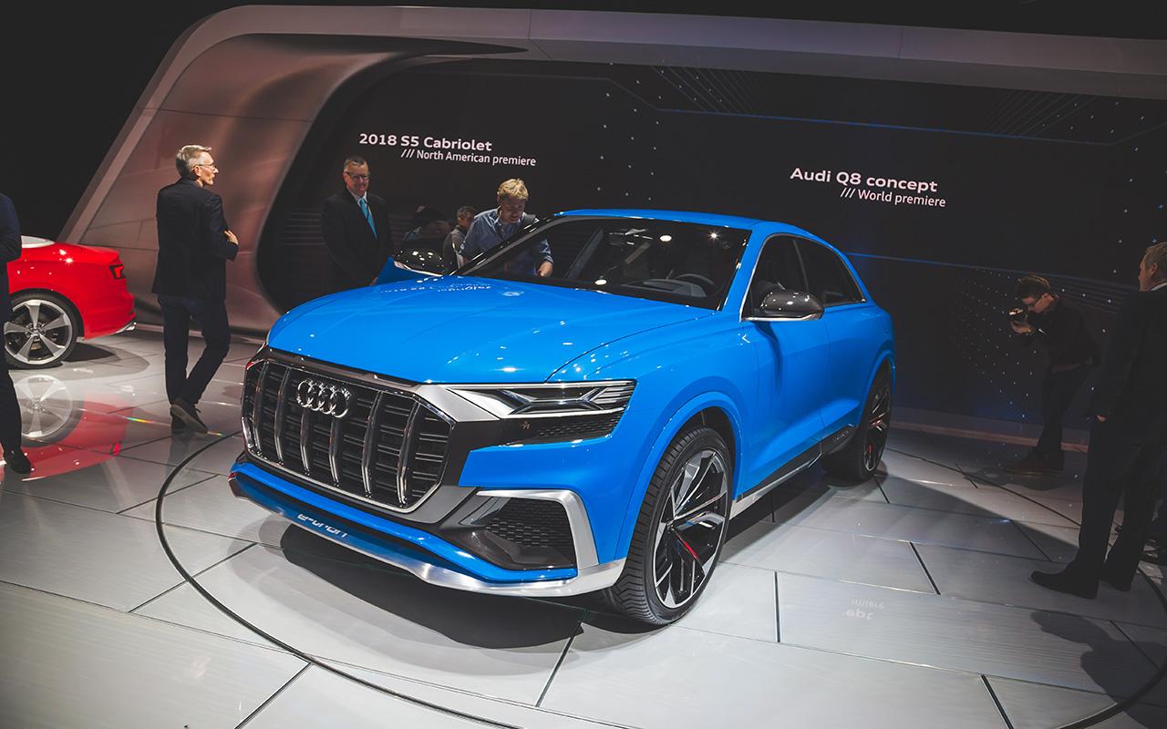 2017 NAIAS - Audi Q8 Concept