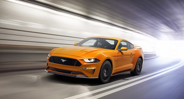 The 2018 Ford Mustang, this is it, with a new face