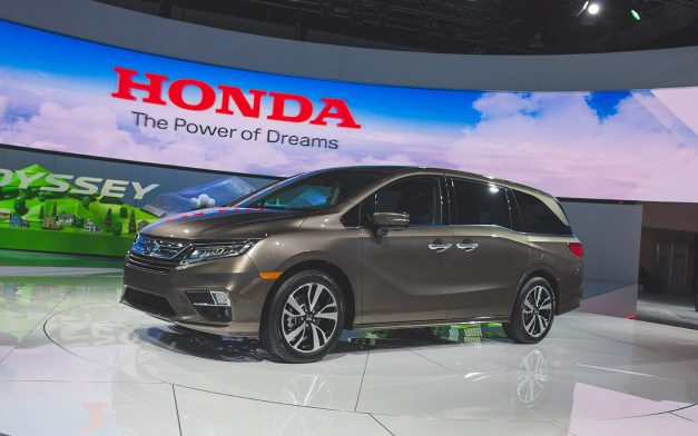Honda continues minivan Odyssey with 2018 model