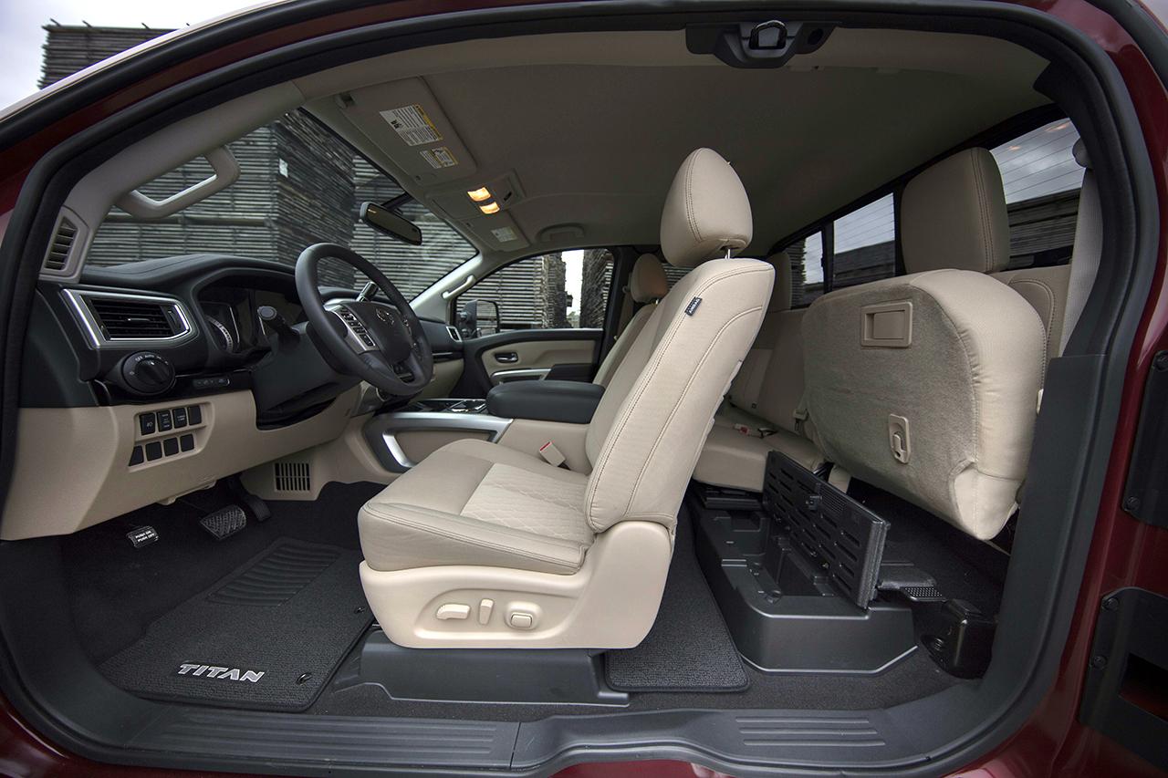 2018 Nissan Frontier King Cab >> 2017 Nissan Titan King Cab - egmCarTech