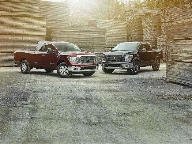Nissan Titan and Titan XD Lineup Get King Cabs