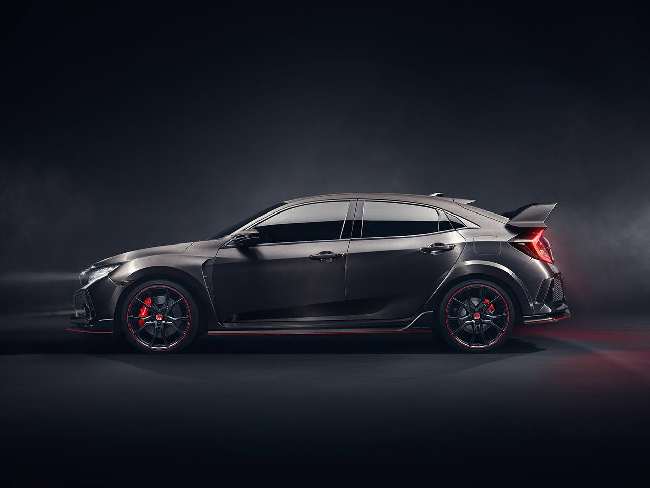 2017 Geneva Preview - 2018 Honda Civic Type R Prototype - egmCarTech ...