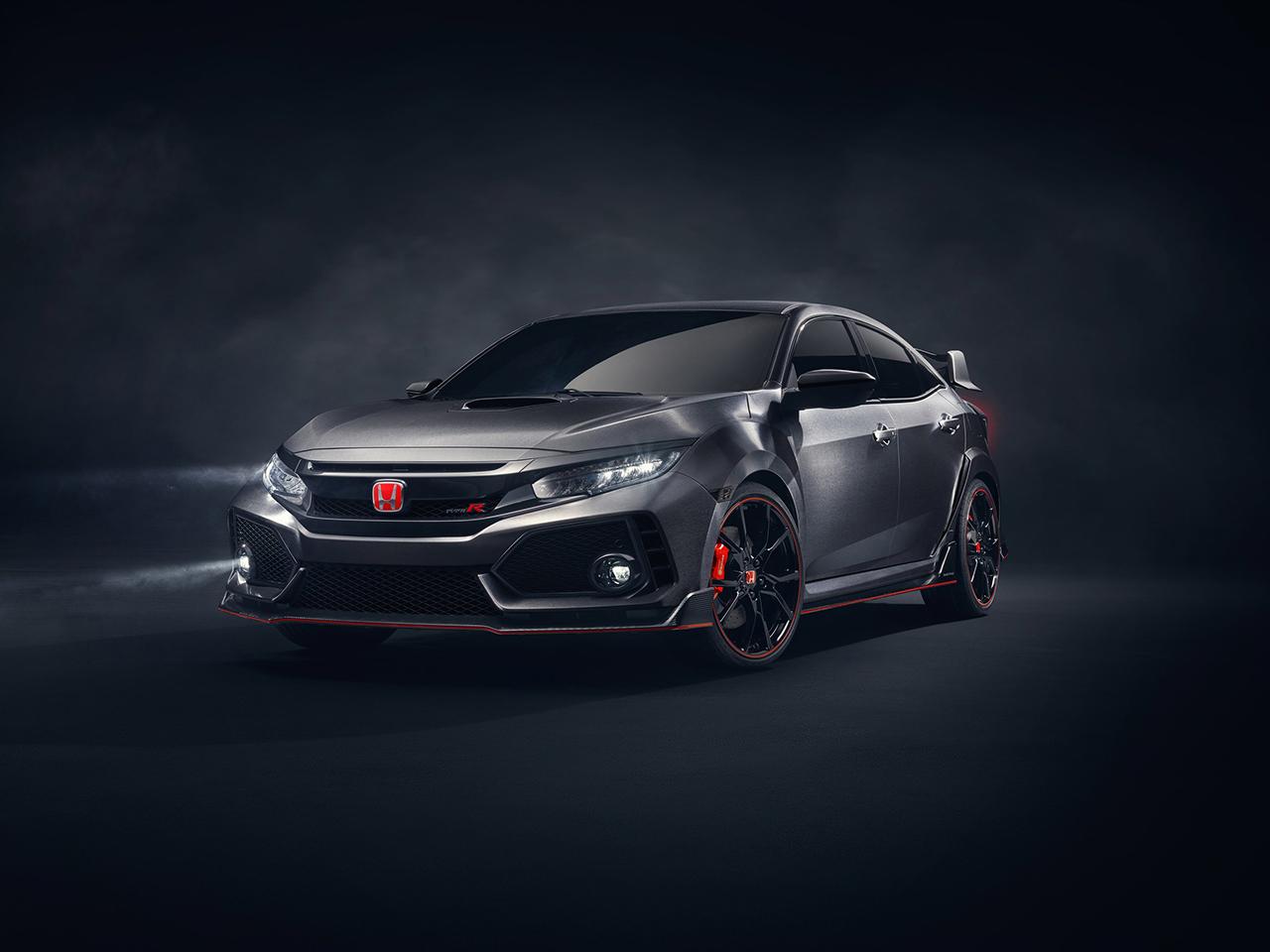 2017 Geneva Preview - 2018 Honda Civic Type R Prototype