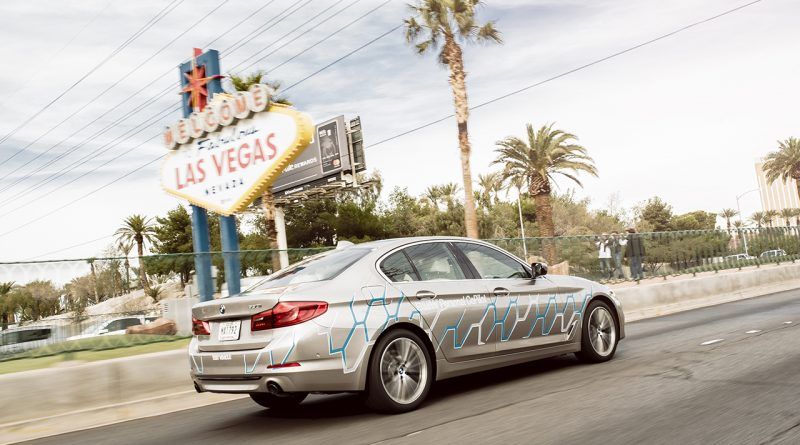 Self-Driving BMW 5-Series at 2017 CES
