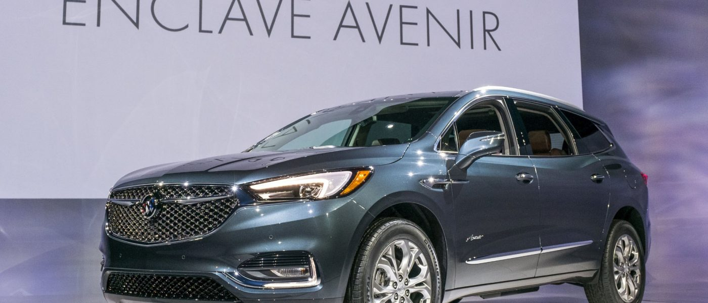 2017 New York: The Buick Enclave Avenir debuts brand's extra-lux sub-label