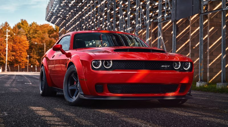 2017 New York: The new Dodge Challenger SRT Demon is an 840 horsepower ...