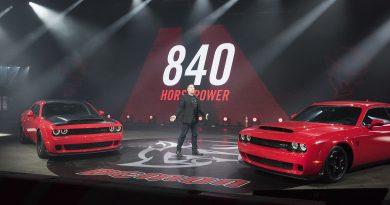 2017 New York: The new Dodge Challenger SRT Demon is an 840 horsepower monster