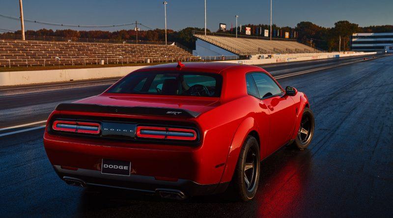 2017 New York The Dodge Challenger Srt Demon Unleashed