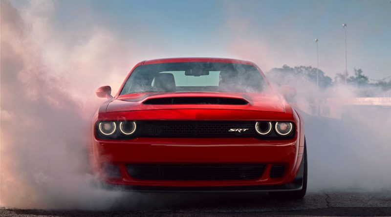 2017 New York The Dodge Challenger Srt Demon Unleashed