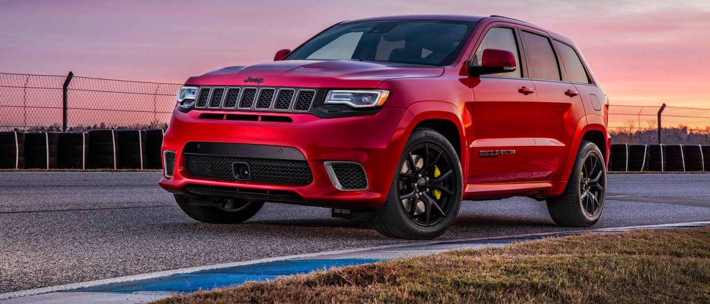 2017 New York Preview: This is the new Hellcat-ified Jeep Grand Cherokee Trackhawk