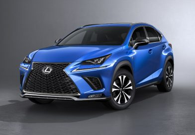 2017 Shanghai Preview: The 2018 Lexus NX refreshed to look more like it's larger RX sibling