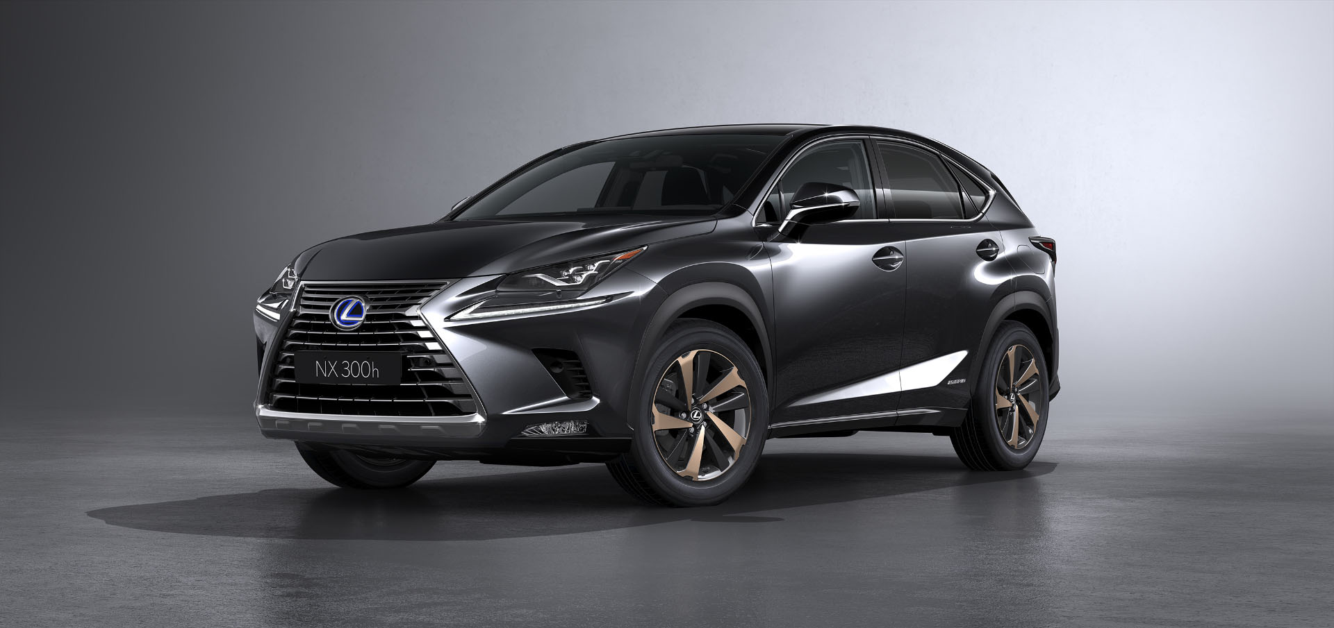 2017 shanghai preview the 2018 lexus nx refreshed to look more like it 39 s larger rx sibling. Black Bedroom Furniture Sets. Home Design Ideas