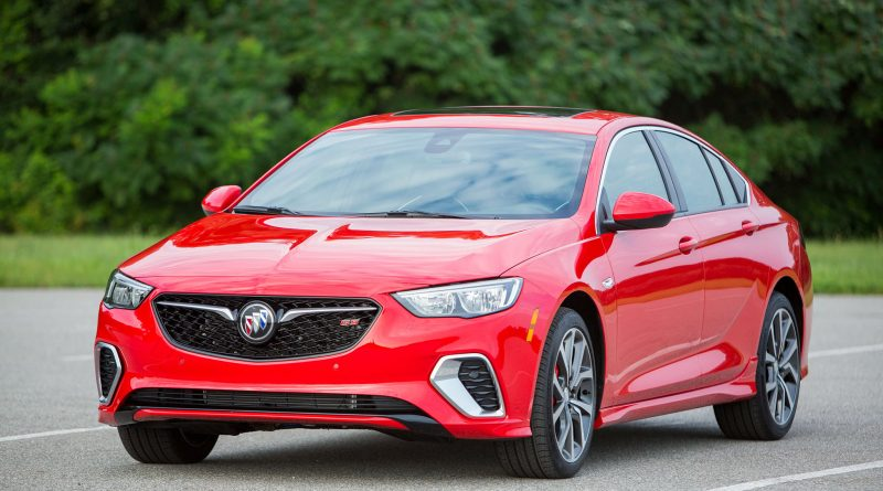 This is the all-new 2018 Buick Regal GS, an enthusiasts ...
