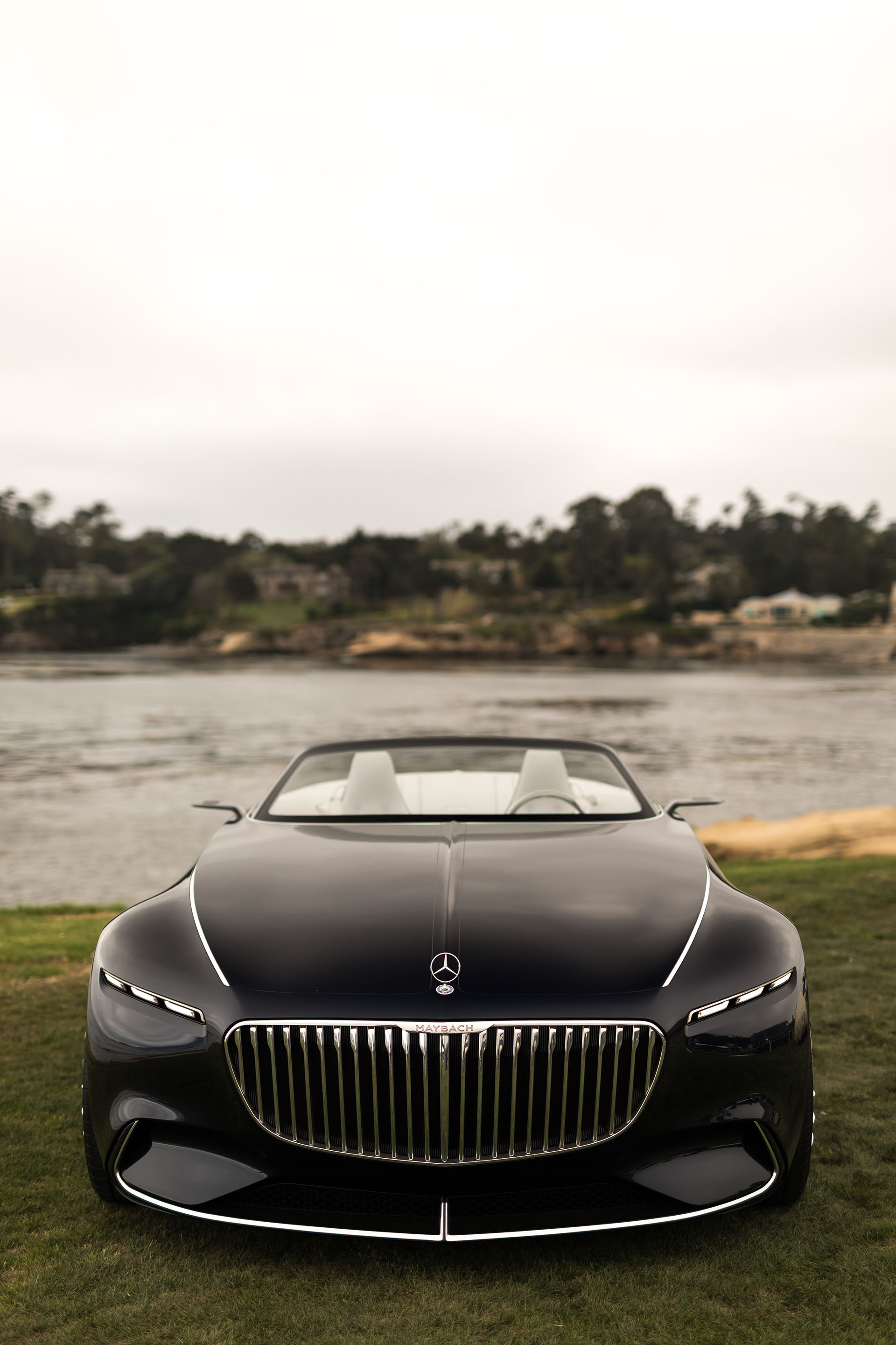Mercedes Long Beach >> 2017 Monterey: The Vision Mercedes-Maybach 6 Cabriolet ...