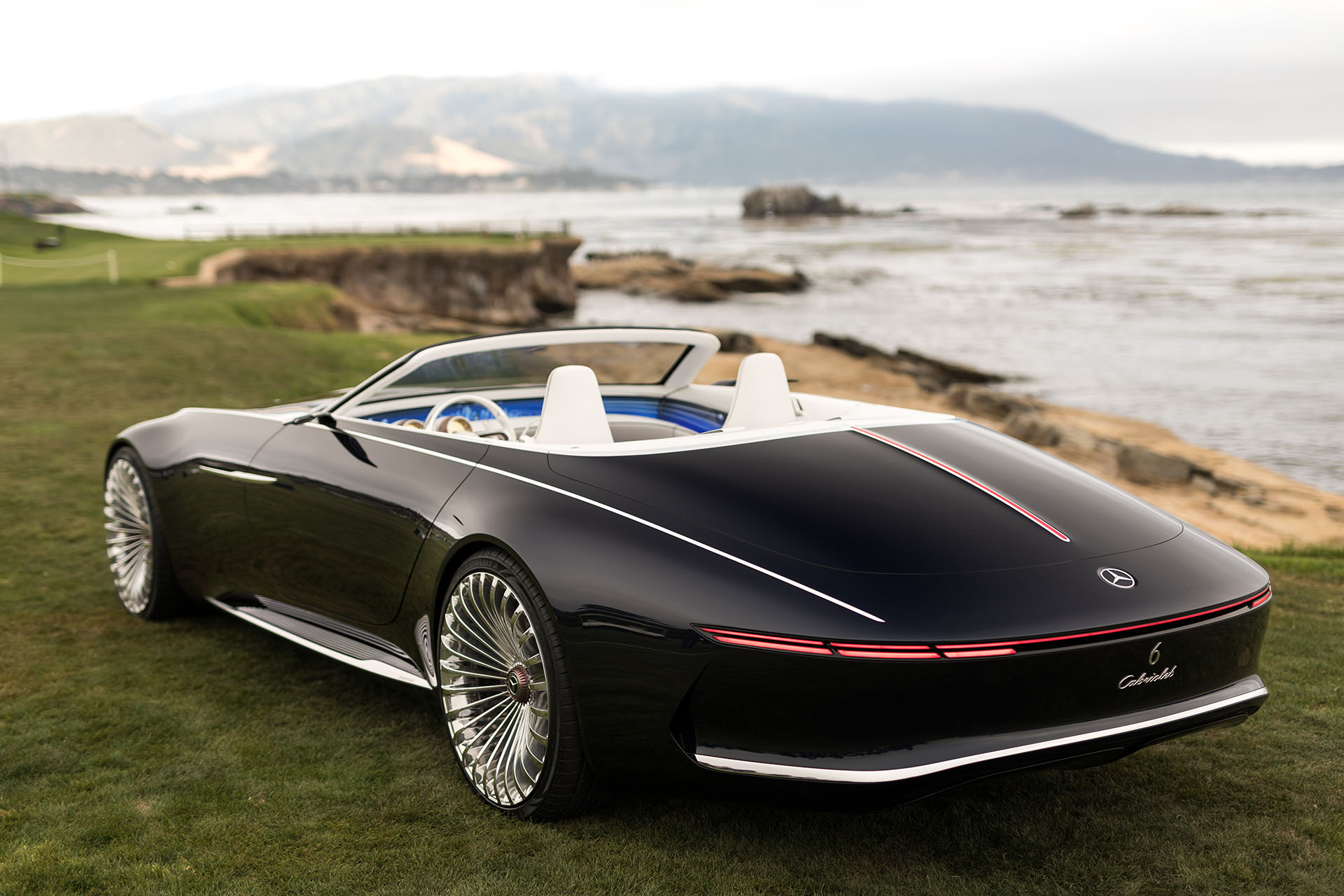 2017 Monterey The Vision Mercedes Maybach 6 Cabriolet Previews The Future In Opulent Open Top