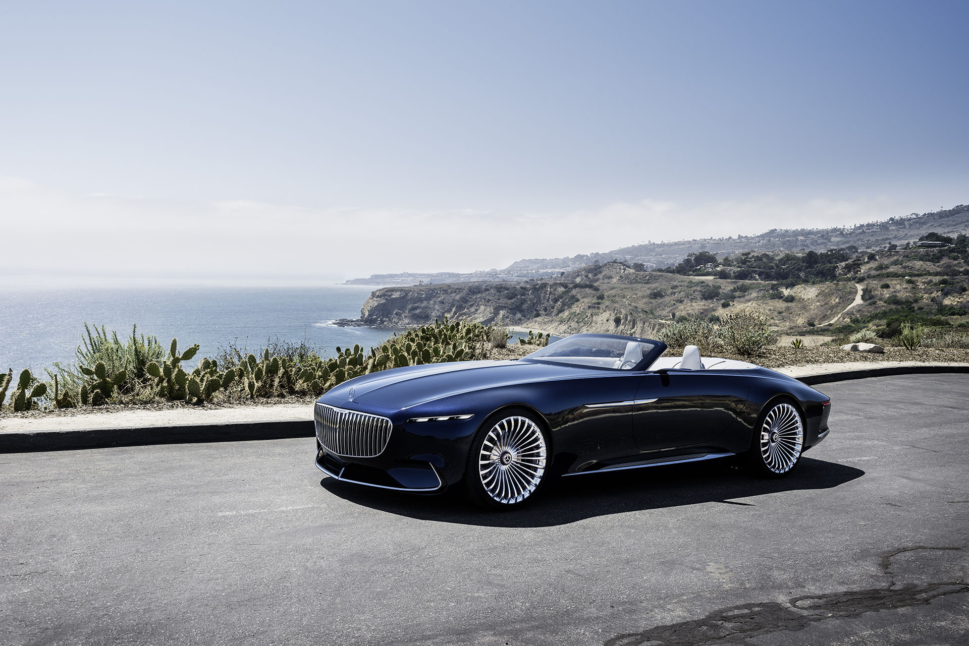 2017 monterey the vision mercedes maybach 6 cabriolet for Mercedes benz of monterey monterey ca
