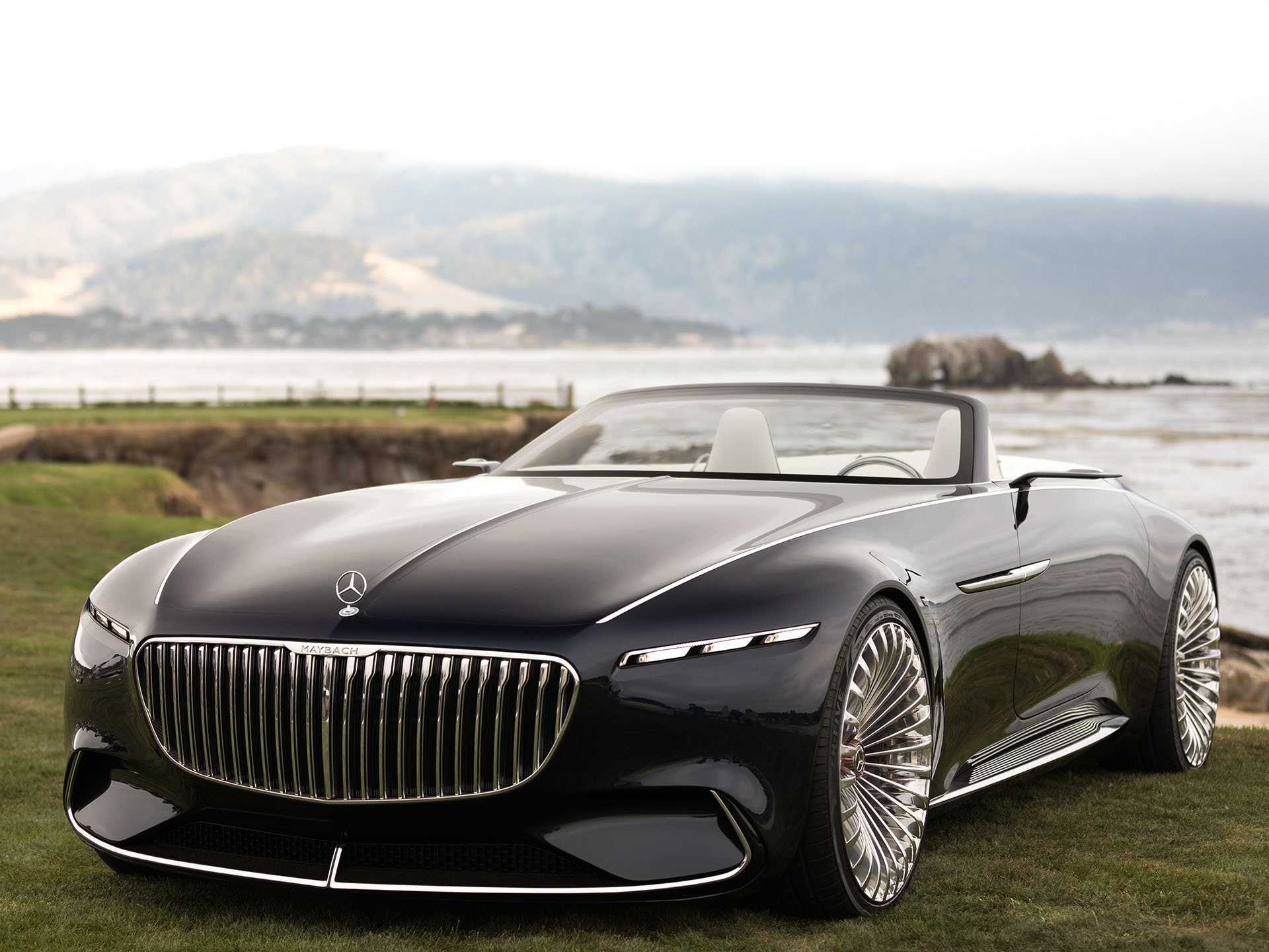 2017 monterey the vision mercedes maybach 6 cabriolet for Mercedes benz maybach 6 price