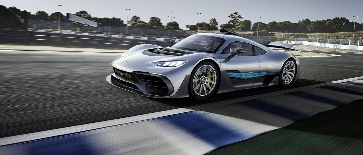 BREAKING: This is the new Mercedes-AMG Project ONE, commemorating 50 years of AMG in Frankfurt
