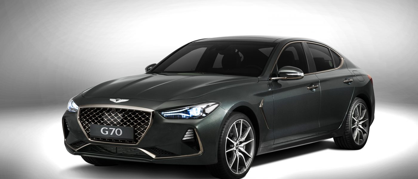 The all-new 2019 Genesis G70 is the BMW 3-Series' latest worry