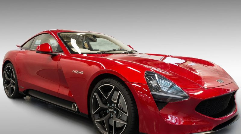 the 2019 tvr griffith marks the return of the famed british sports car maker egmcartech. Black Bedroom Furniture Sets. Home Design Ideas