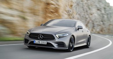 2017 Los Angeles: The 2019 Mercedes-Benz CLS leads the company's new design language