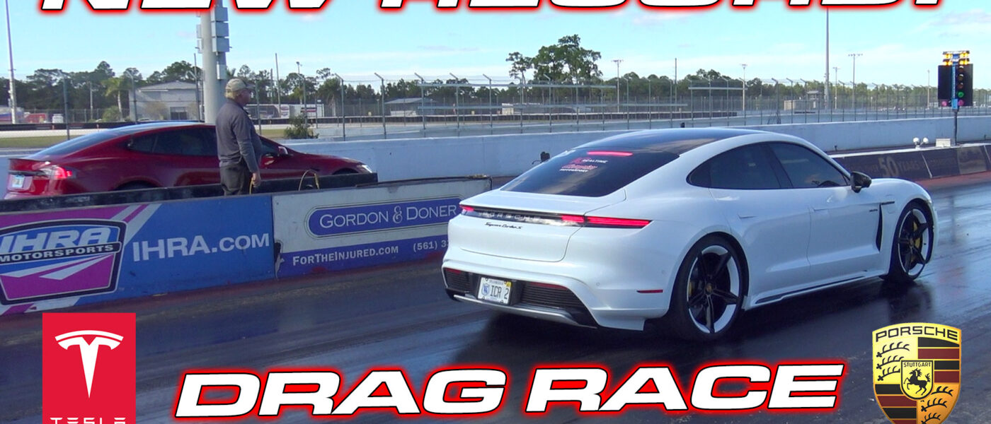 DRAG RACE – Porsche Taycan Turbo S vs Tesla Model S Performance