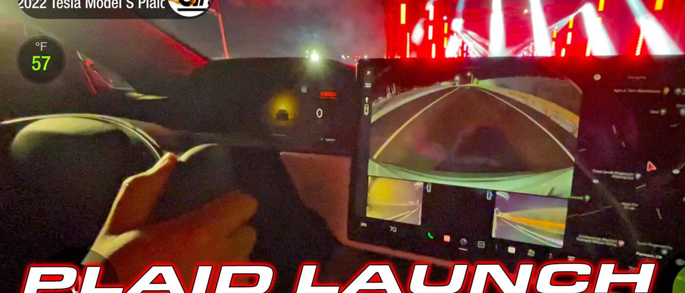DragTimes Tesla Plaid Mode Test in Model S