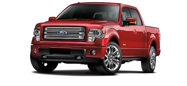 2013 Ford F-150 Limited Main Stuff