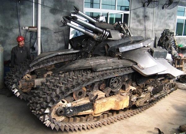 Steel Legend's Megatron Tank 2