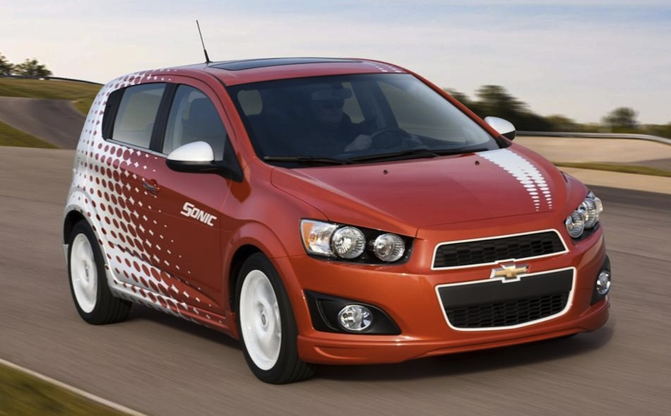 2012 Chevrolet Sonic Z-Spec Accessories