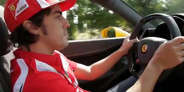 Ferrari 458 Spider Alonso