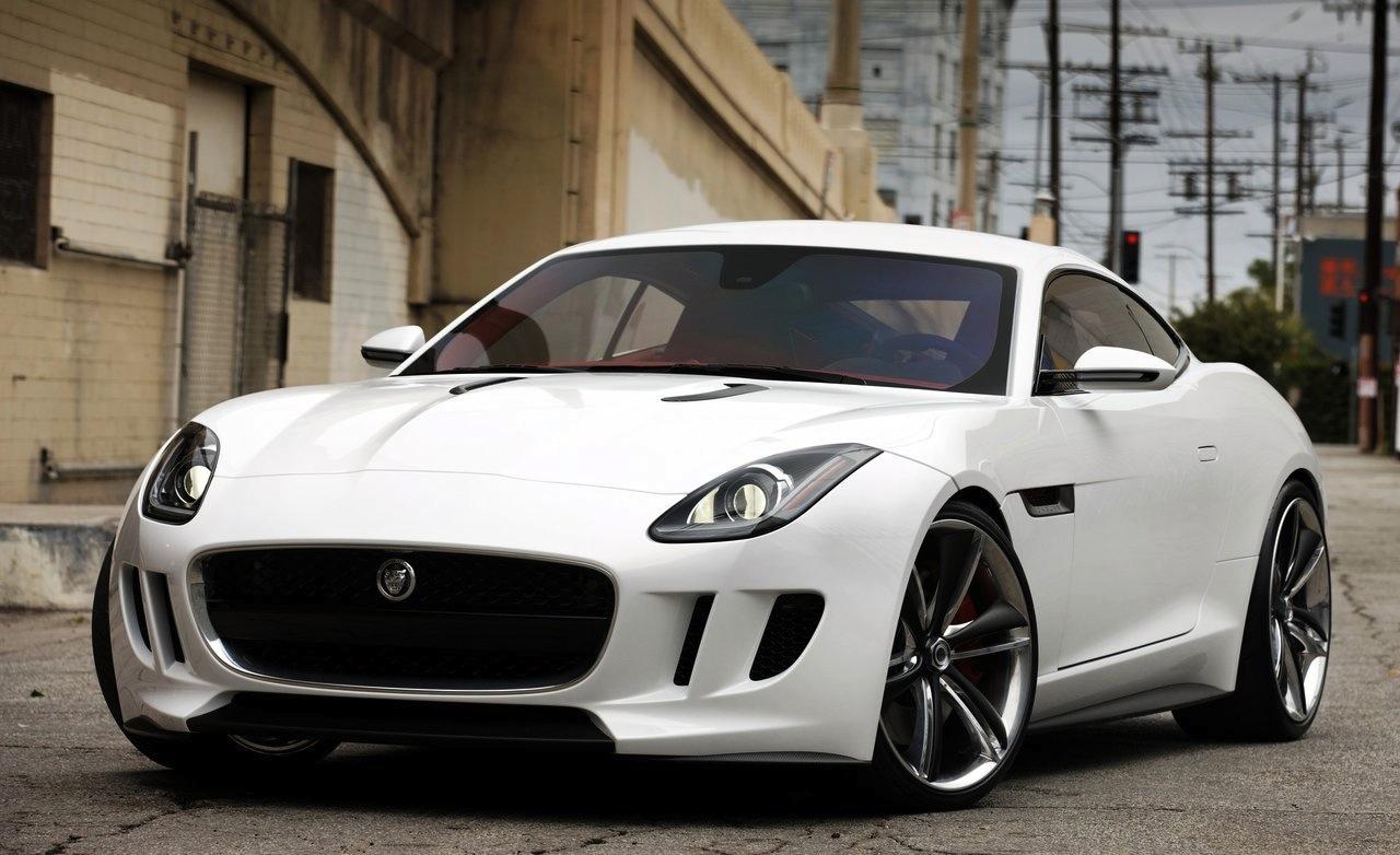 Jaguar C-X16 Concept White
