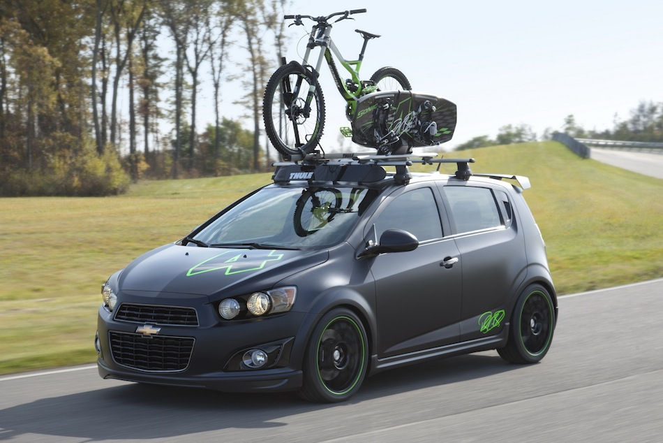 Chevrolet Sonic All Activity Vehicle Concept