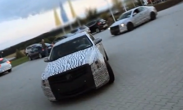Cadillac ATS on Nurburgring
