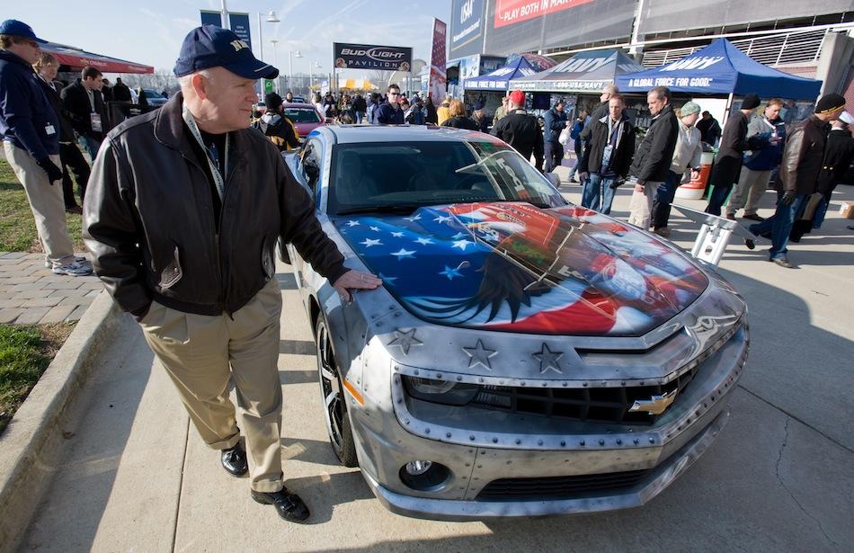 Military Tribute Chevrolet Camaro