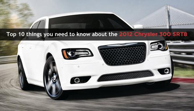 2012 Chrysler 300 SRT8