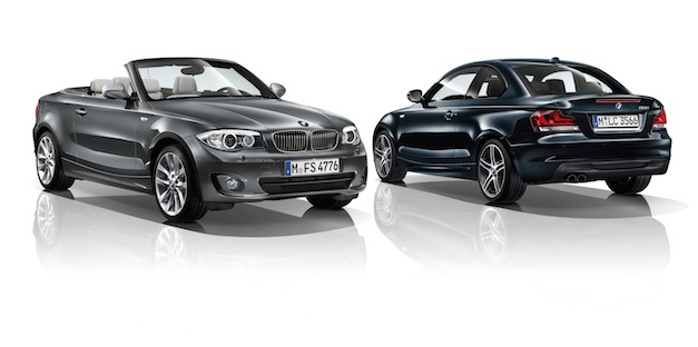 2012 BMW 1-Series Exclusive and Sport Editions