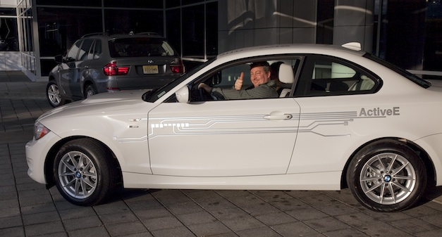 2012 BMW ActiveE Delivery