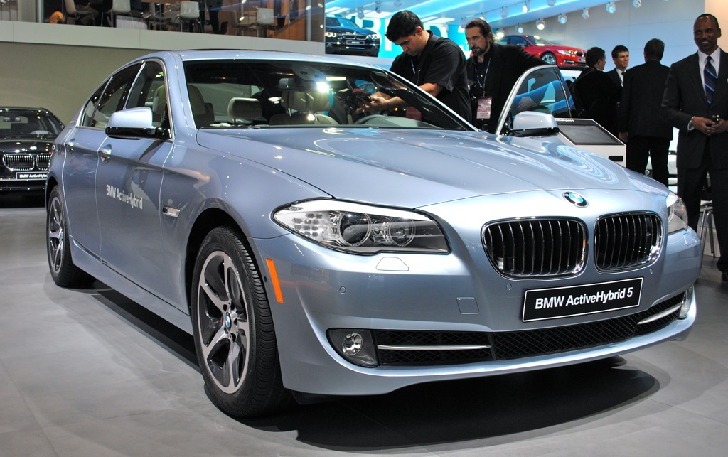 2012 Detroit: 2012 BMW ActiveHybrid 5