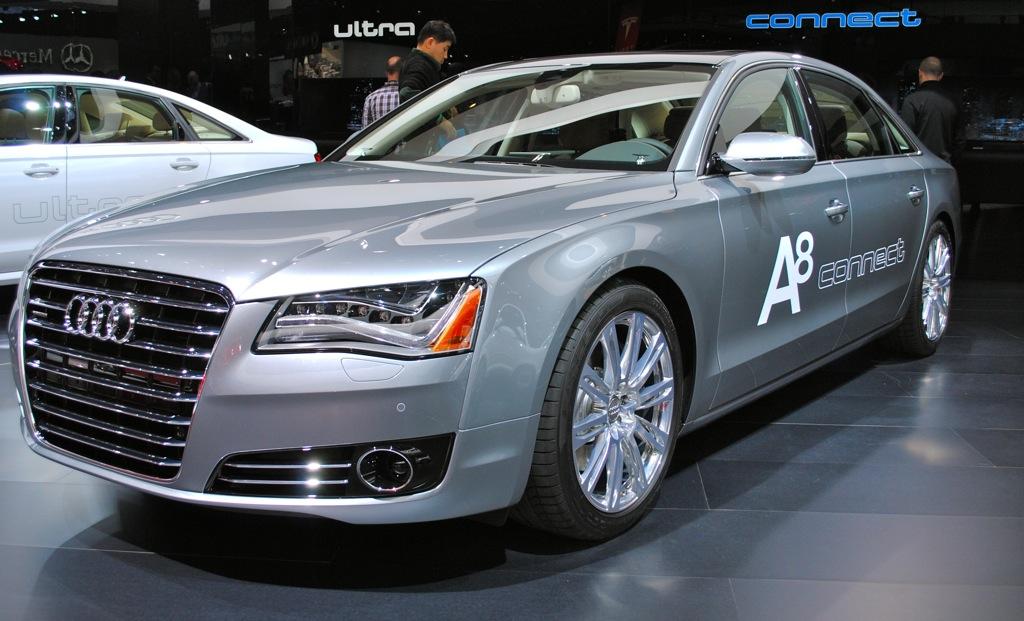 2012 Detroit: 2013 Audi A8