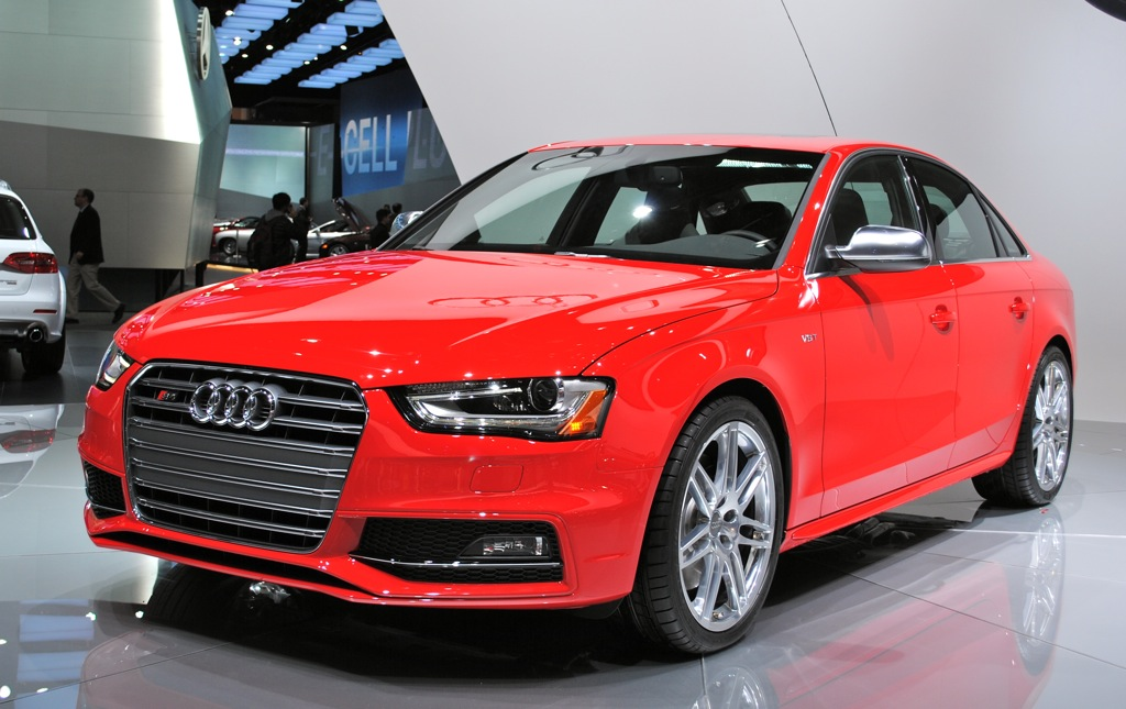 2012 Detroit: 2013 Audi S4