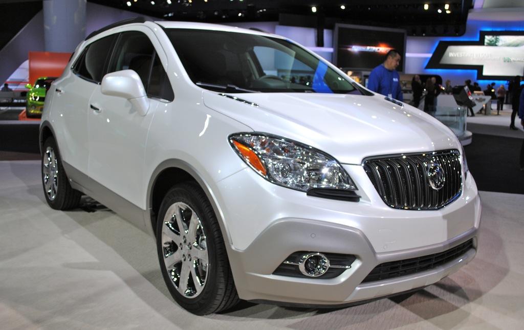 2012 Detroit: 2013 Buick Encore
