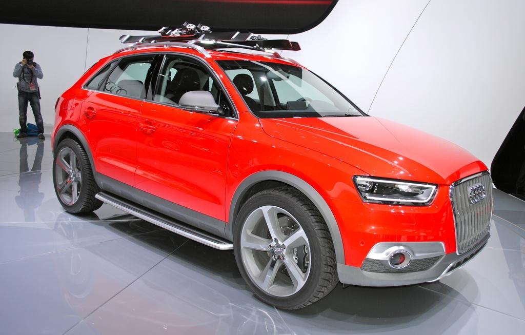 2012 Detroit: Audi Q3 Vail Concept